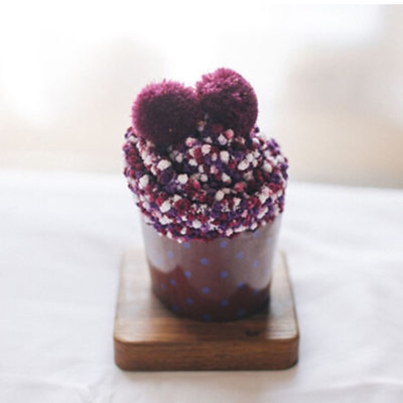 Cupcake Design Womens Pink KNEE HIGH SOCKS Yummy You